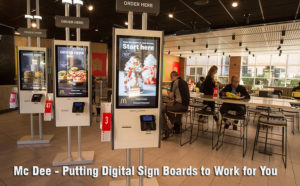 Putting Digital Sign Boards to Work for You